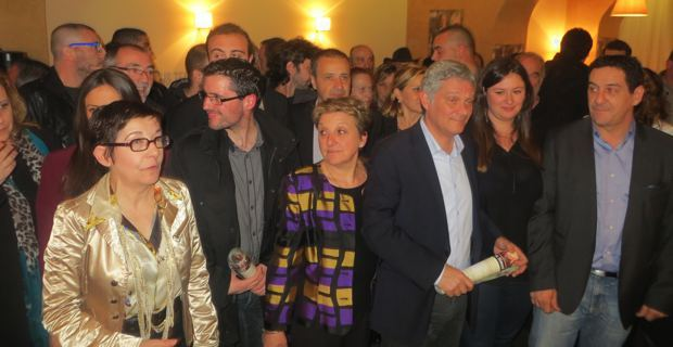 La liste « Un'alba nova per Bastia » conduite par le Dr Eric Simoni.