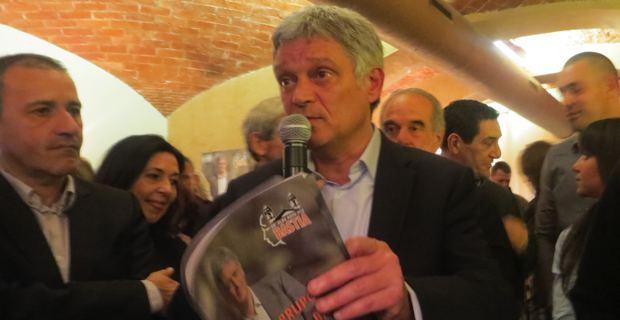 Dr Eric Simoni, tête de liste d' « Un'alba nova per Bastia », candidat à l'élection municipale de Bastia.