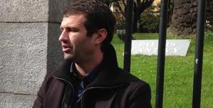 Antoine Stromboni, porte-parole de l'association de défense des intérêts collectifs des entrepreneurs du bâtiment, évoque une situation actuelle de blocage. (Photo : José Fanchi)