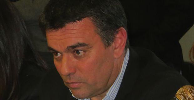 Jean-François Baccarelli, candidat de l'Alliance écologiste indépendante à l'élection municipale du 23 mars à Bastia.