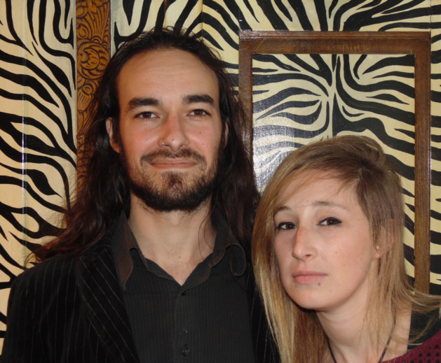 Jean Baptiste Alfonsi et Lola Gérard