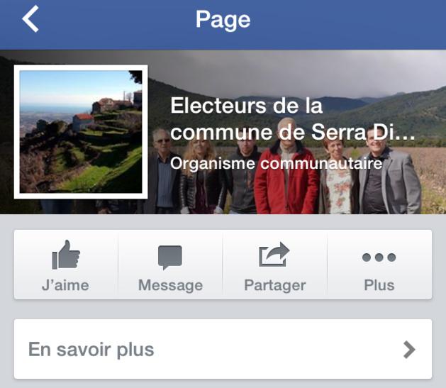 """Un compte de réseau social """"Electeurs de..."""" sur qui on peut mettre un visage. (Photo DR)."""