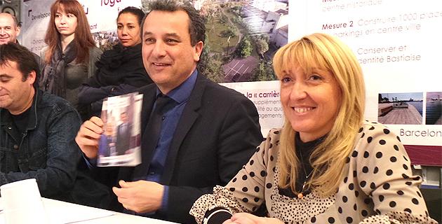 """François Tatti et Emmanuelle Gentili : """"Les questions de second tour viendront le 24 Mars"""""""