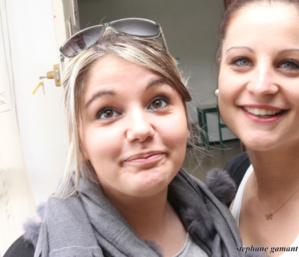Audrey Serra à gauche veut changer d'orientation professionnelle (Photo SG)