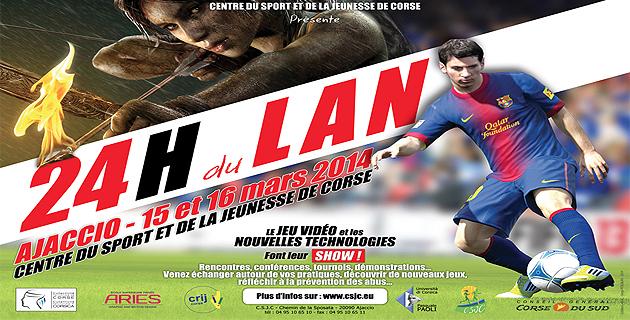 Ajaccio : Les premières 24 heures du LAN