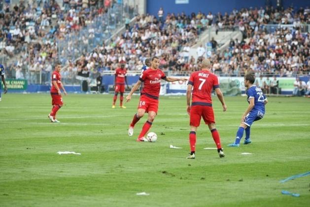 Ibrahimovic et le PSG à Furiani