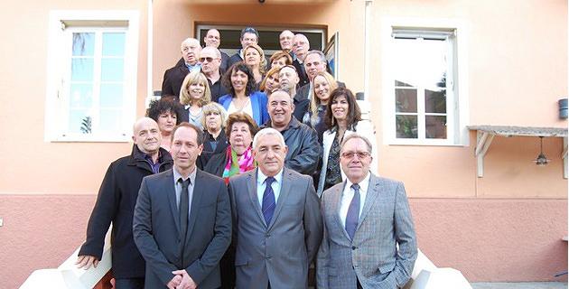 """Jean-Jo Allegrini-Simonetti à présenté sa liste """"Rassemblés pour Ile-Rousse"""""""