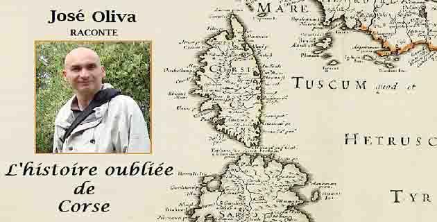 """'L'histoire oubliée de Corse"""" racontée par José Oliva"""