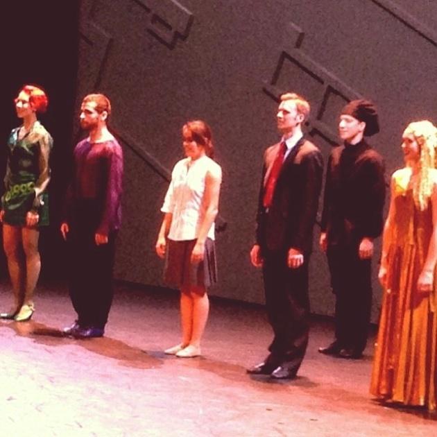 La Calvaise Graziella Lorriaux soliste des Grands Ballets Canadiens de Montréal