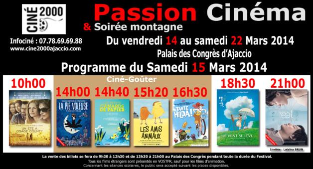 Passion Cinéma : Une deuxième journée très attendue par les enfants