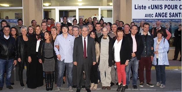 """""""Unis pour Calvi"""" : L'ouverture de la permanence avant le meeting sous chapiteau"""