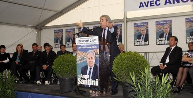 Ange Santini souhaite une victoire écrasante
