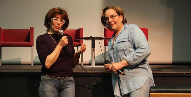 Gisèle Casabianca et Jacqueline Léandri