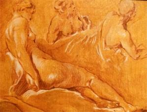 """""""Dessins d'études"""" : Prescillia Mary-Maisani au Roi de Rome"""