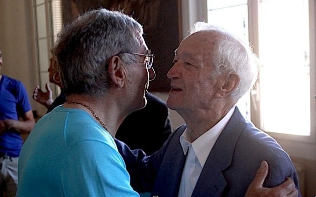 Eugène Ceccaldi à droite
