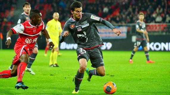 Cù parechji ghjovani cum'è Mickaël Leca, l'ACA a faci à supranà Valenciennes in fin di contu (Ritrattu : IconSport)