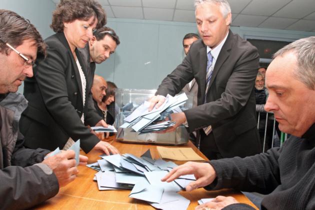 Le maire sortant Pierre Siméon de Buochberg réélu. (photo SG)