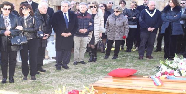 L'ultime hommage à Eugène Ceccaldi maire de Lumio depuis 1965