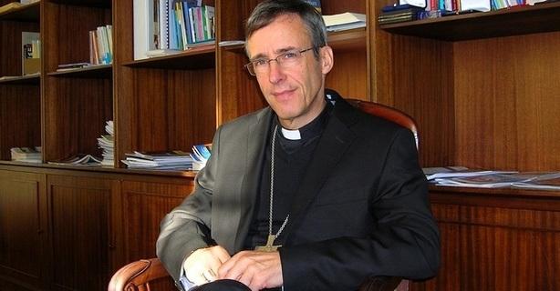Mgr Olivier de Germay, Evêque d'Ajaccio pour la Corse. (Photo d'archive : Yannis-Christophe Garcia)