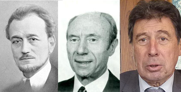 Emile Sari, Jean Zuccarelli et Emile Zuccarelli
