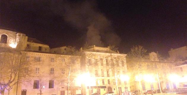 Incendie près du quartier du Marché de Bastia : Deux personnes incommodées