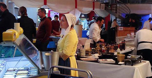 4e Salon de la restauration : Le plein succès pour Olga Nomellini et les siens