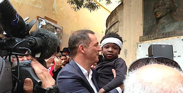 Le maire de Bastia rend hommage à Pasquale Paoli