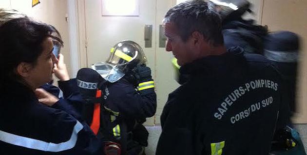 Ajaccio : Incendie à l'Hôpital Eugénie