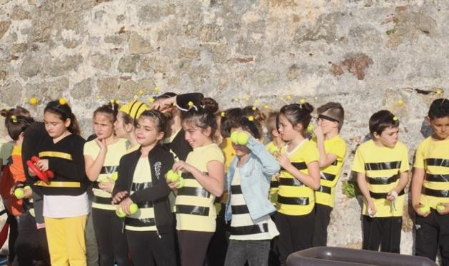 Le cirque de printemps de l'école Loviconi à Calvi