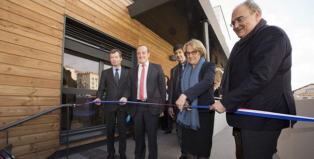 Marylise Lebranchu a inauguré les nouveaux locaux de la DDTM