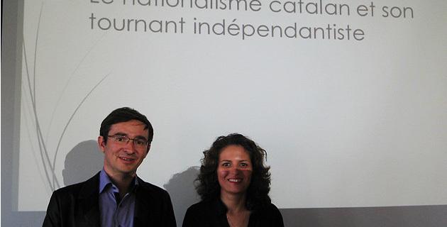 André Fazi et Marie-Amandine Sain