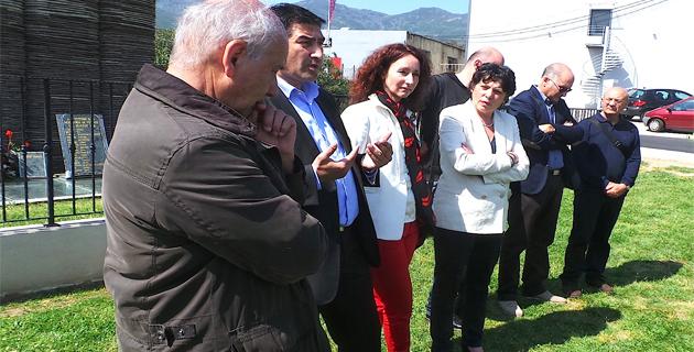 Toni Casalonga Karim Zéribi, Julia Sanguinetti et Michèle Rivasi