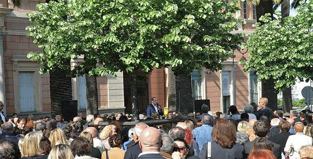 Laurent Marcangeli et son équipe municipale fêtés à Ajaccio : Place Foch, place des victoires…