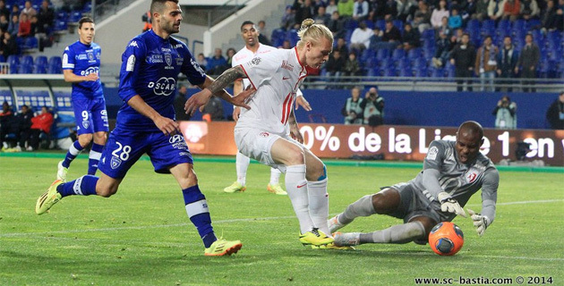 Le Sporting méritait mieux face à Lille (1-1)