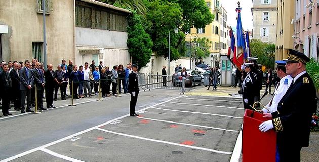 Un hommage a été rendu mercredi aux policiers morts pour la France. (Photo : Yannis-Christophe Garcia)
