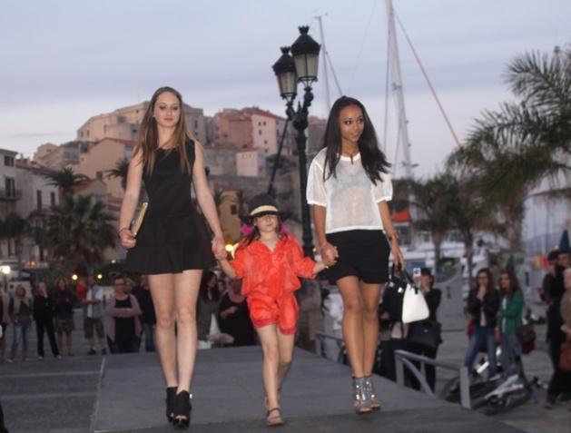 La mode au rendez-vous sur le port de Calvi