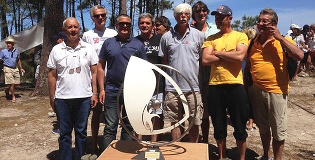 Remise du Trophée de la ville de Calvi à l'équipage vainqueur