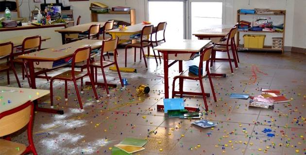 Porto-Vecchio : L'école de Muratello vandalisée