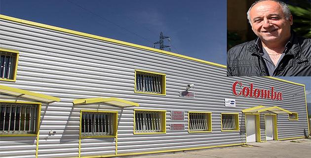 La société des Pâtes Colomba fondée par  Christian Balzano