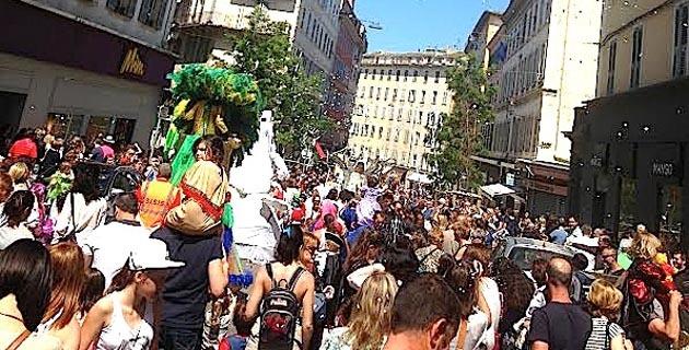 Festa di i zitelli in Bastia : Le succès