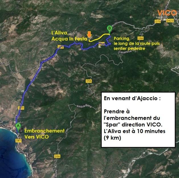 Acqua in Festa à Vico : Demandez le programme
