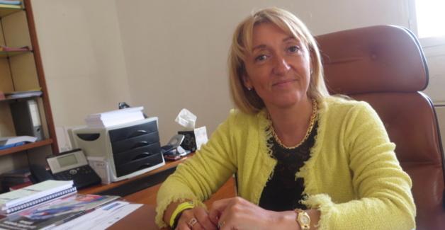 Emmanuelle de Gentili, première secrétaire du PS de Haute-Corse, membre du Conseil national du PS, conseillère exécutive à l'Assemblée de Corse (CTC) et 1ère adjoint à la mairie de Bastia.