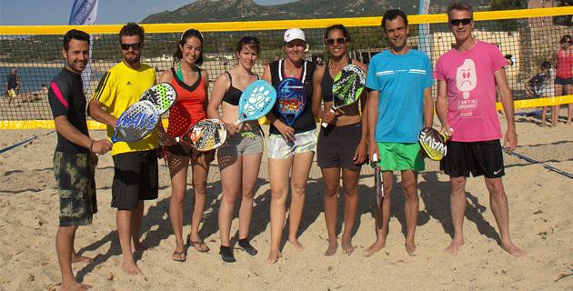 Algajola : Succès du tournoi de Beach-Tennis organisé par le TCIR !