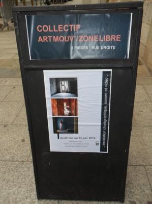 "Bastia : L'installation de ""Performance Art Mouv"" au centre Una Volta"