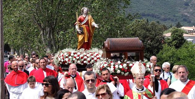 Calenzana : L'évêque de Corse au pélerinage de Sainte-Restitude