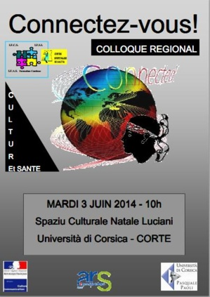 Premier colloque culture et santé à Corte le 3 juin