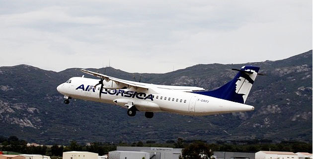 Un passager d'Air Corsica sauvé grâce à l'efficacité de l'équipage et aux secours à l'arrivée à Calvi