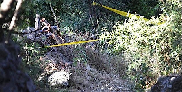 Le corps de Marc D'Angeli calciné à Moncale dans les décombres de son cabanon de jardin