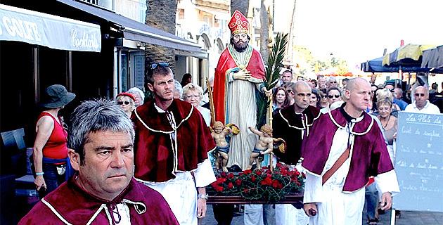 Saint Erasme patron des marins et des pêcheurs célébré à Calvi