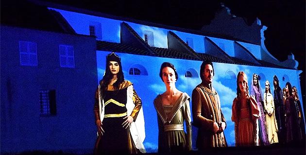 Corbara sous la bannière aragonaise le temps d'un magnifique spectacle !